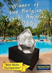 Belgian Travel Awards Vacansoleil
