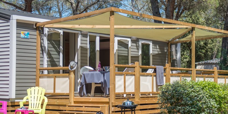 Hébergements GLAMPING - Glamping Mobile Home