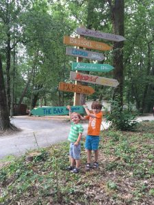 Camping Iris Parc Le Grand Dague in de Dordogne